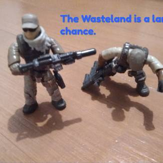Image of: Wasteland - Repaying the favour.