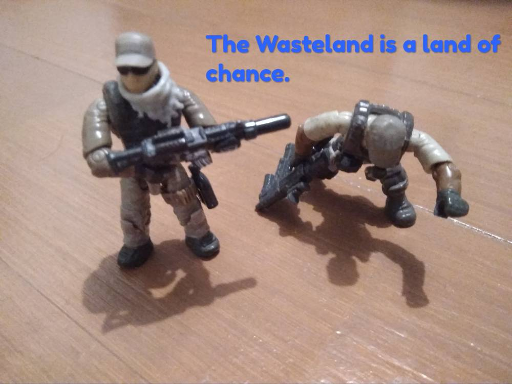 Wasteland - Repaying the favour.