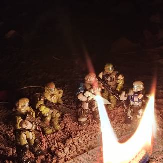 Image of: By the fire