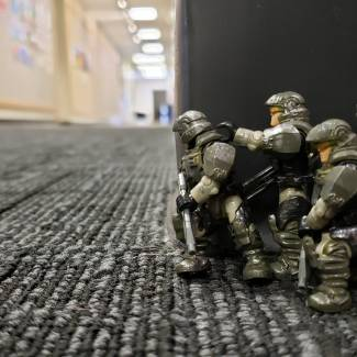 Image of: Is the Corridor clear corporal