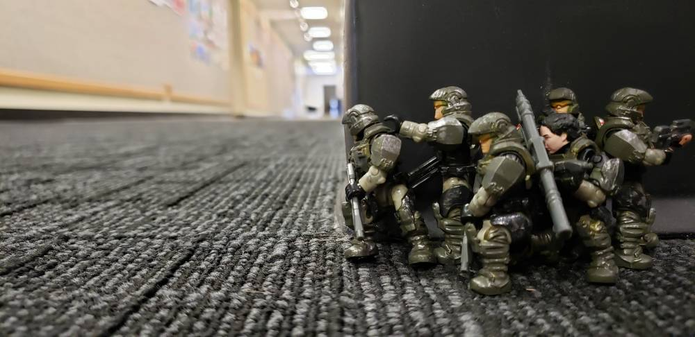 Is the Corridor clear corporal
