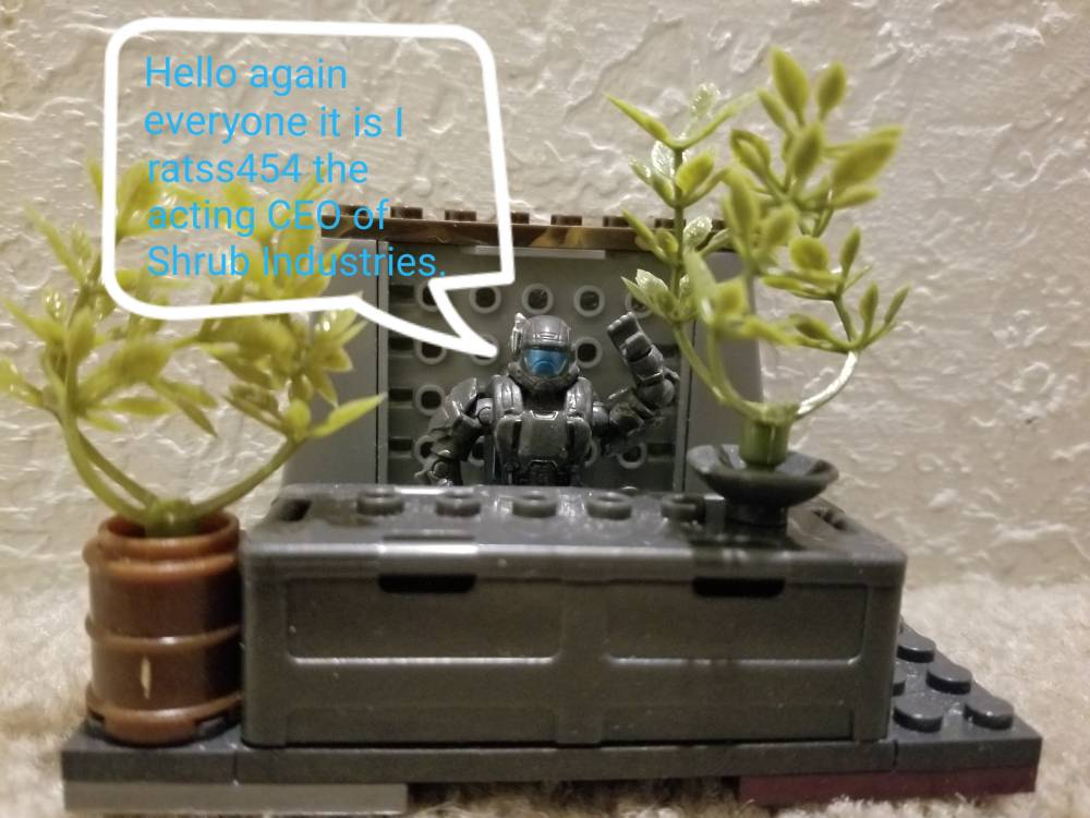 Image of: An announcement from Shrub Industries