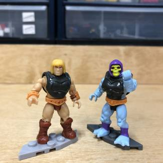 Image of: Inside the MCX Design Center: Masters of the Universe Battle Armors and Zodac