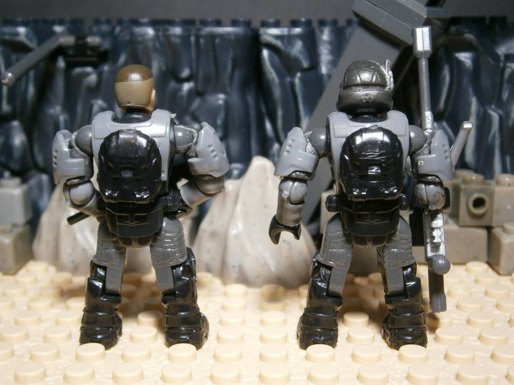 Image of: Sergeant Stacker and Halo 2 ODST