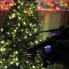 Image of: Echo 5-7 approaching Christmas Tree...