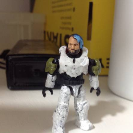 Custom Mirage Figure From Apex Legmds part one