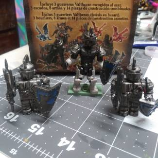 Image of: MegaBloks Knights Redux edition [Work In Progress]