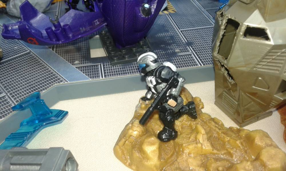 Image of: Halo Diorama at the Carolina Children's Museum of Puerto rico final part