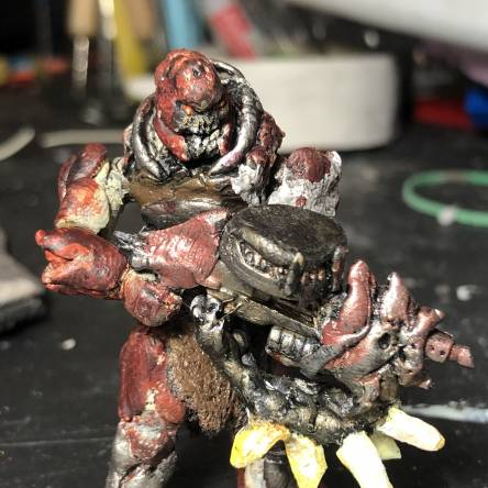 """Gears of war Swarm Grenadier with """"The Claw"""""""