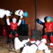 """Major Mega Bloks Wrasslin"""