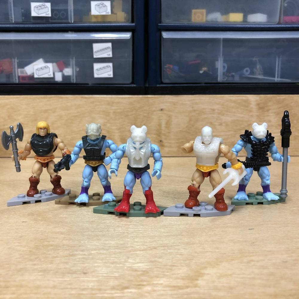 Image of: Inside the MCX Design Center: Masters of the Universe Fisto, Stinkor and More!
