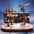 Battle Beyond the Wall Game of Thrones set