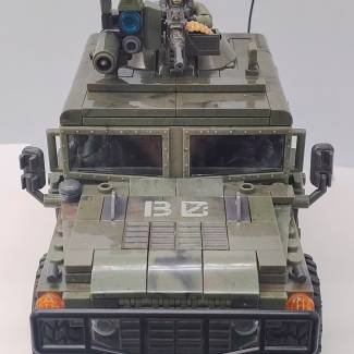 Image of: M1114 HMMWV