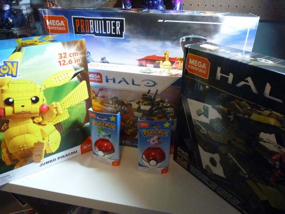 King's mega mega Christmas haul.
