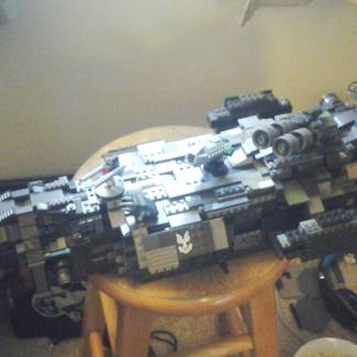 Image of: Project 342 (UNSC Jugement) Space Battleship