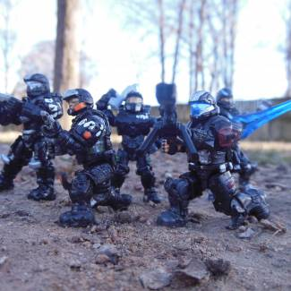 Image of: ONI fireteam  black suns