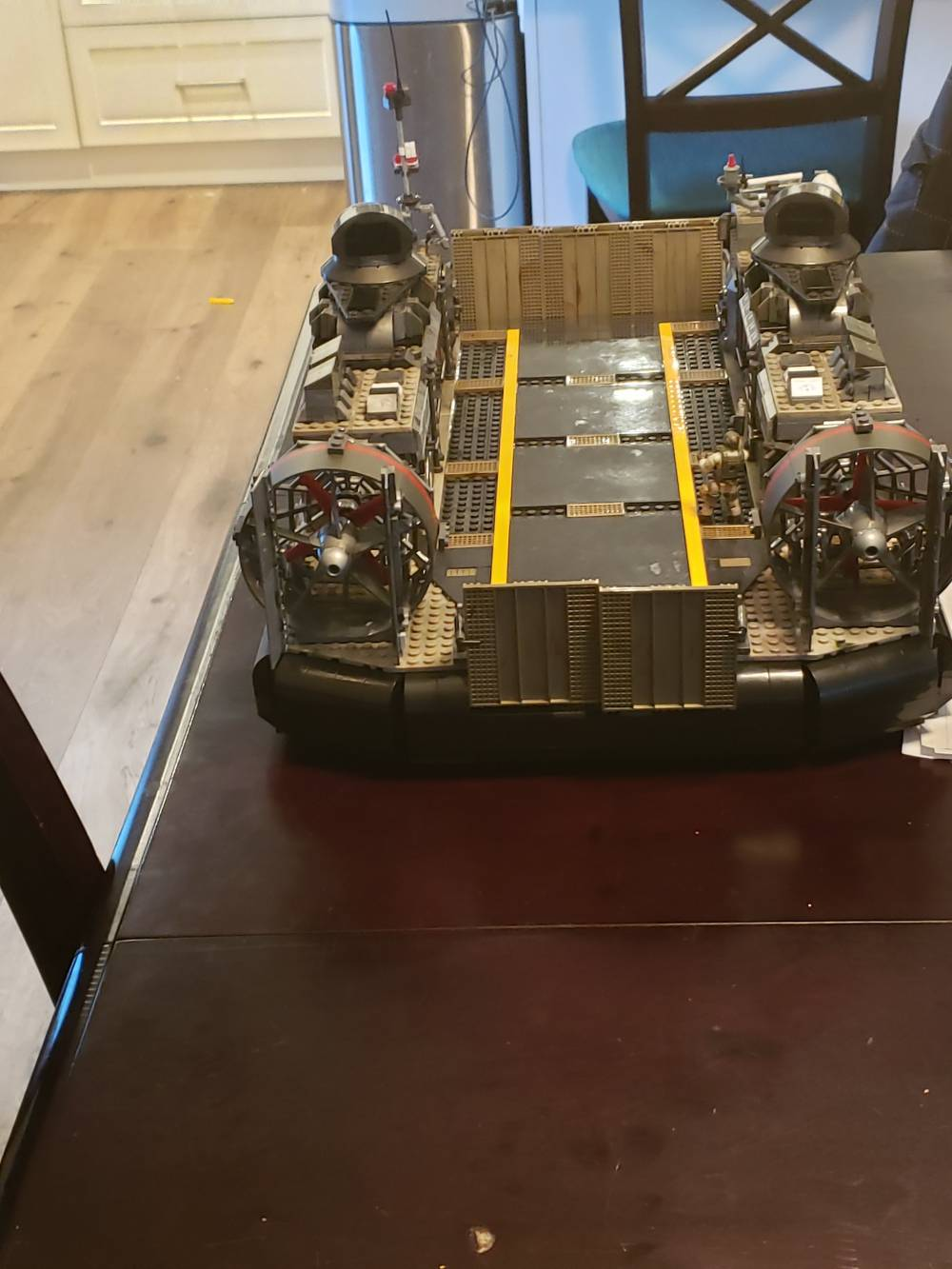 Image of: LCAC build