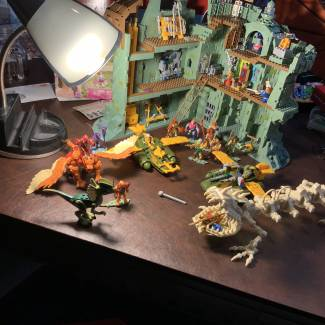 Image of: Most of my Mega Sets, I really wish mega construx was easier to find. I STILL need some MOTU Figures