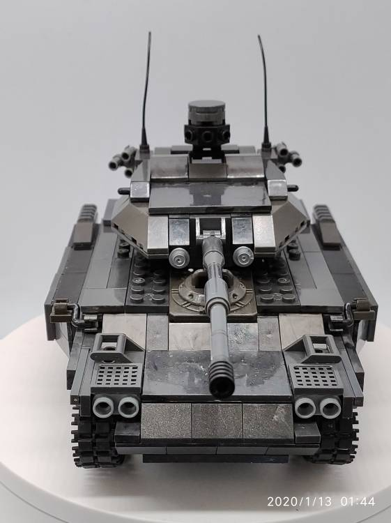 Homemade light tank