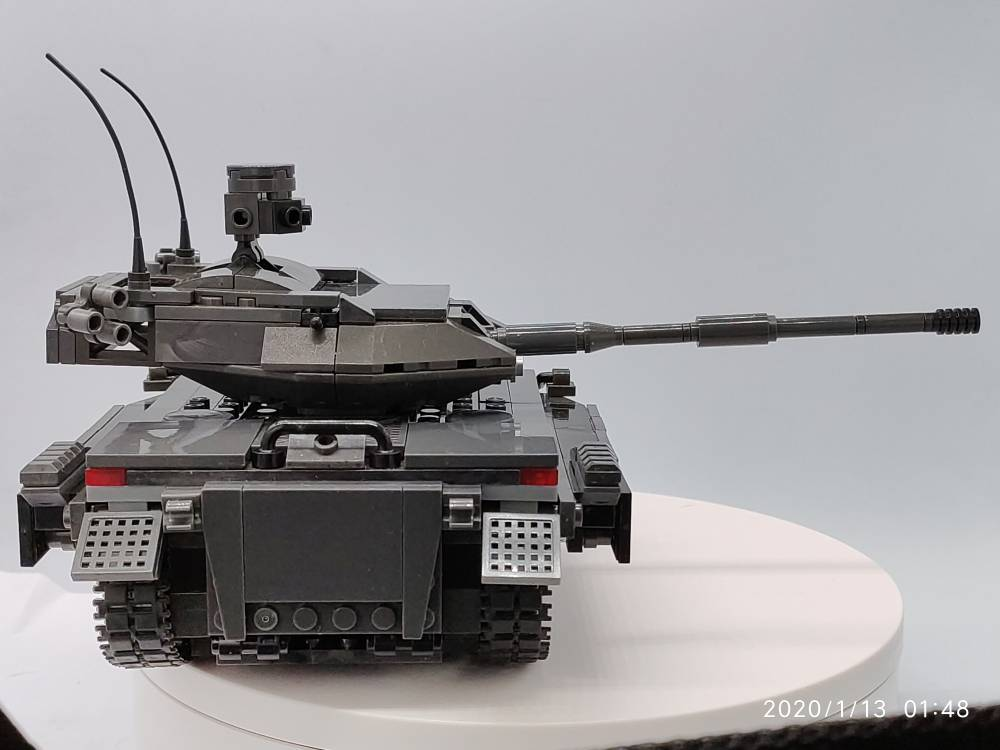 Image of: Homemade light tank