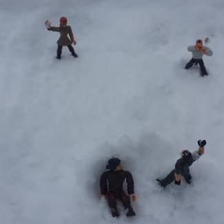 Image of: Snow Ball Fight!