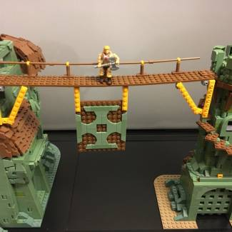 Image of: Grayskull Tower - 1986 Eternia Playset