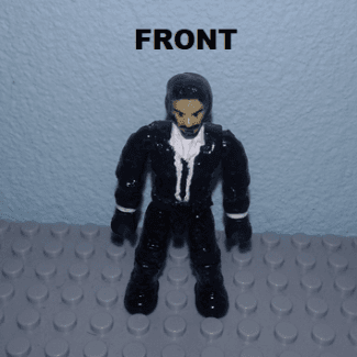 Image of: John Wick  (COD custom figure)