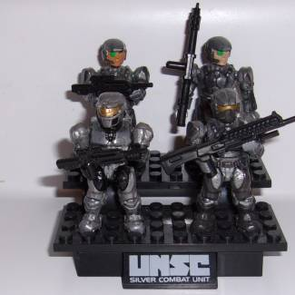 Image of: #ThrowbackThursday Silver Combat Unit