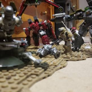 Image of: UNSC vs The Banished Diorama