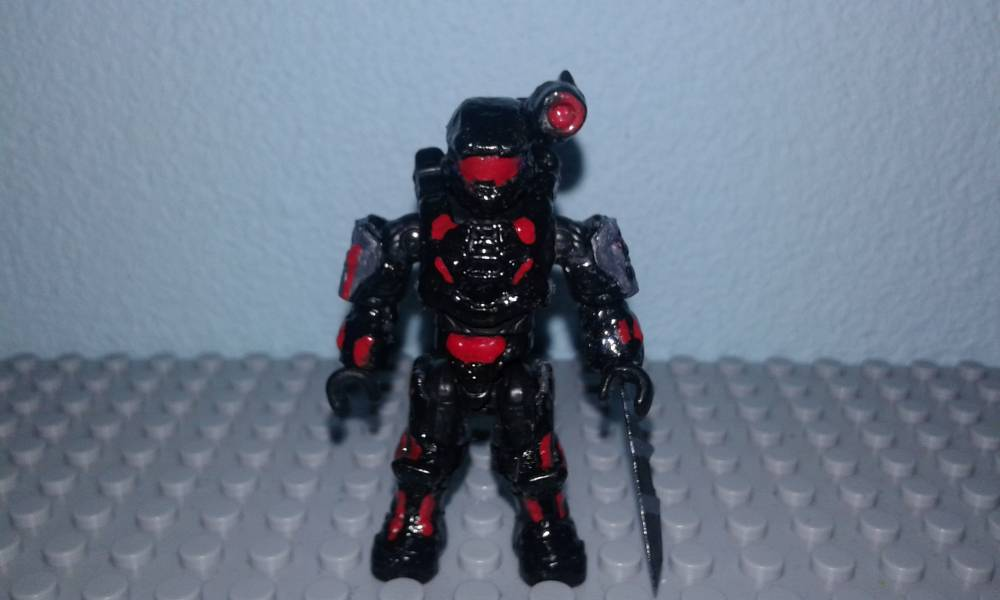 Muto's blade arm and BOOMCO SDCC exclusive spiker