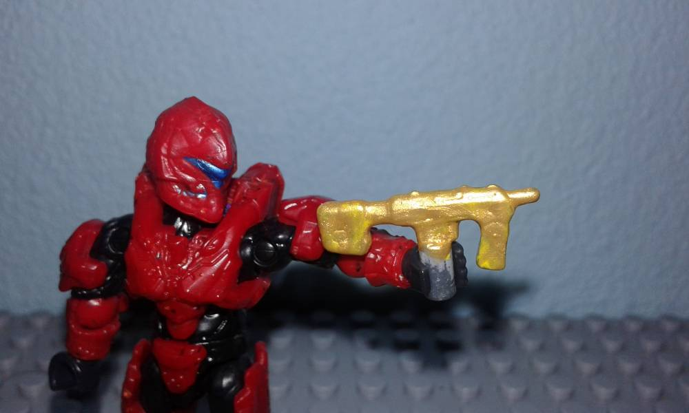 Halo 2 SMG golden tribute, SMG blue metallic and more