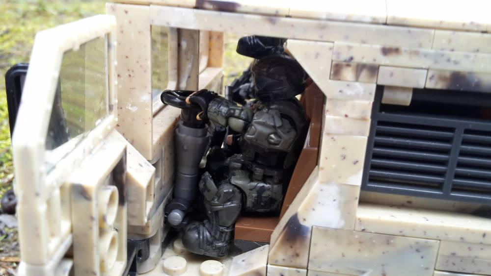 Image of: ODST heading to war