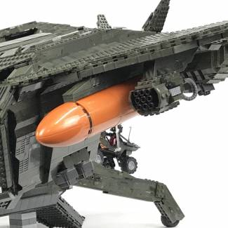 Image of: Ultimate Pelican MOC Phase 6 (Work in progress)