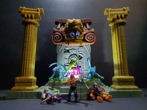 Image of: Skeletor hatches a new plan