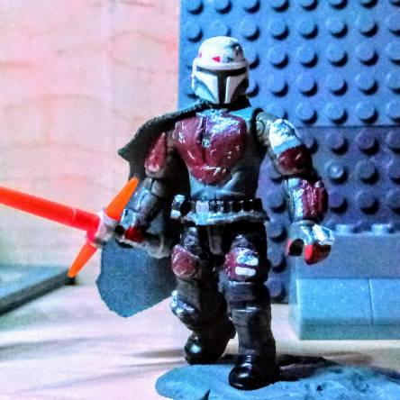 I've made a weapon, that suits a Mandalorian