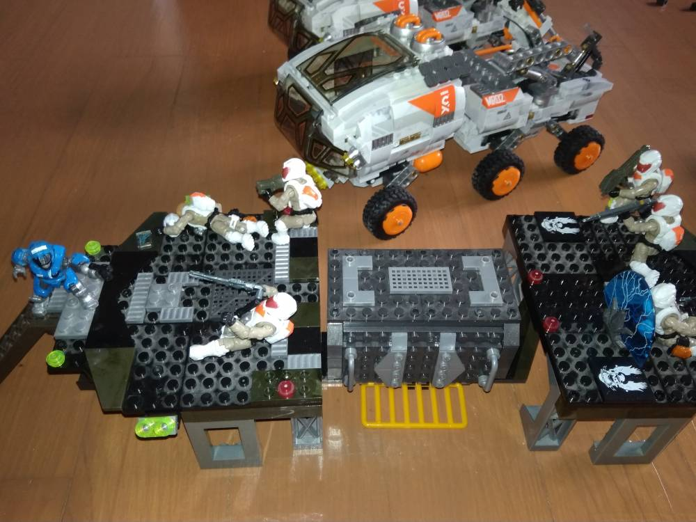 Image of: Custom Landing Pad