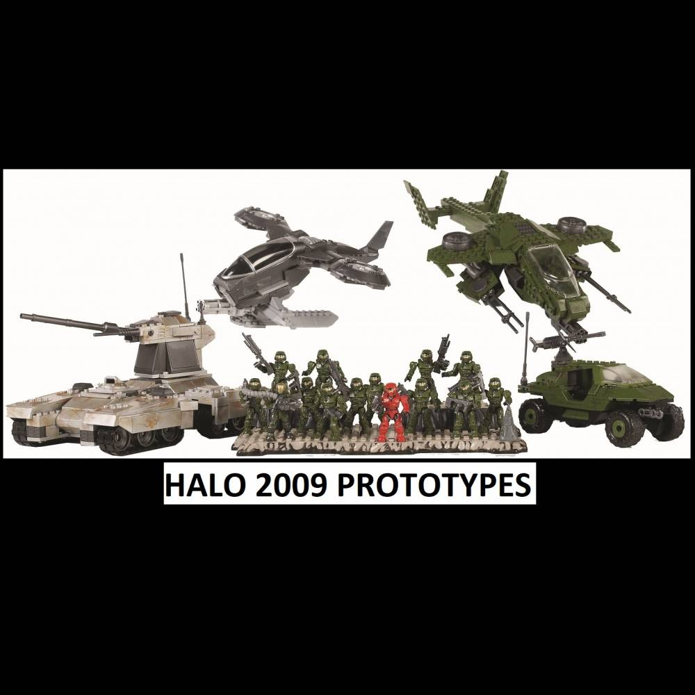 Throwback Thursday Pre-Toy Fair Edition: 2009 Halo Line Prototypes