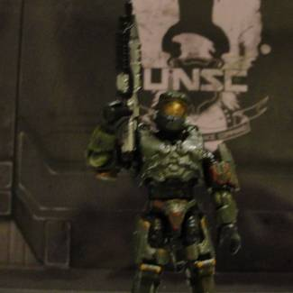 Image of: Custom Halo 2/3 master cheif
