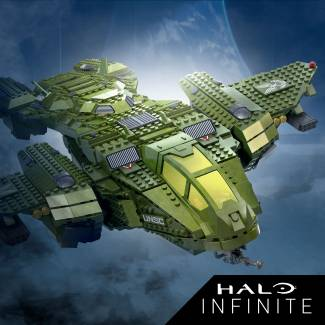 Image of: New Halo Infinite Sets Part  2!