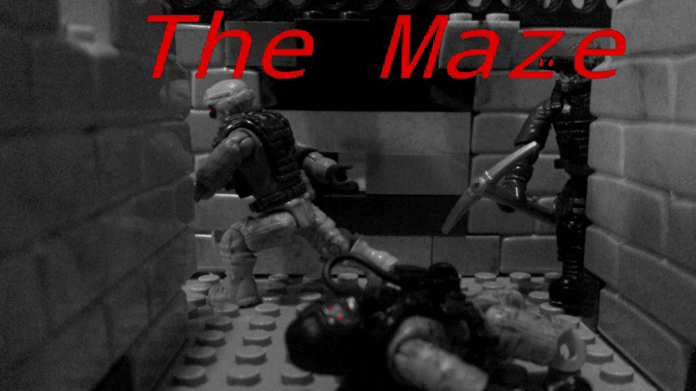 The Maze, Interactive Comic Preview