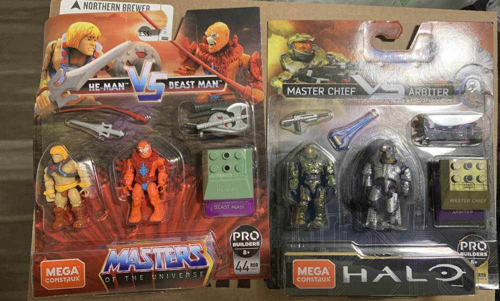 New Halo and MOTU !!