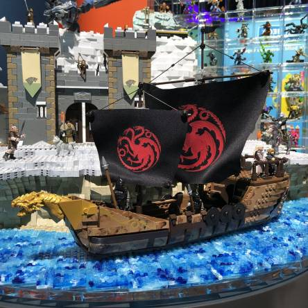 Live from NY Toy Fair: Game of Thrones Targaryan Warship