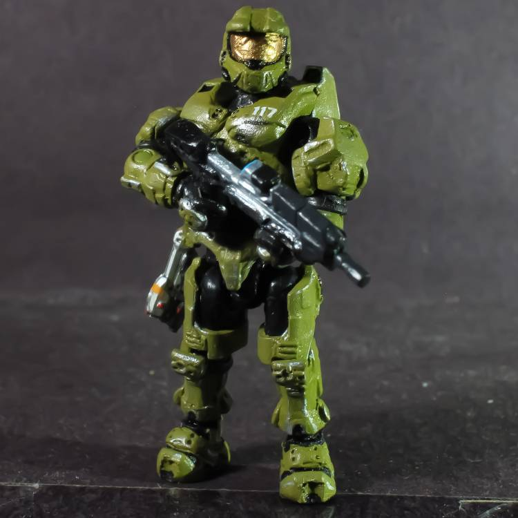 Halo infinite máster chief (mega articulated)