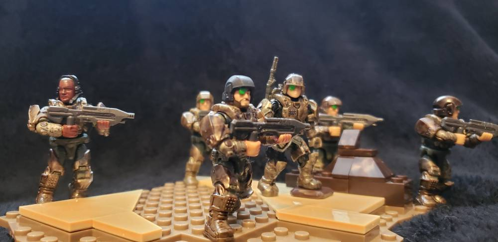 Image of: Good coat of wash always betters figs (ie I got my hand on five ce marines plus made a extra)