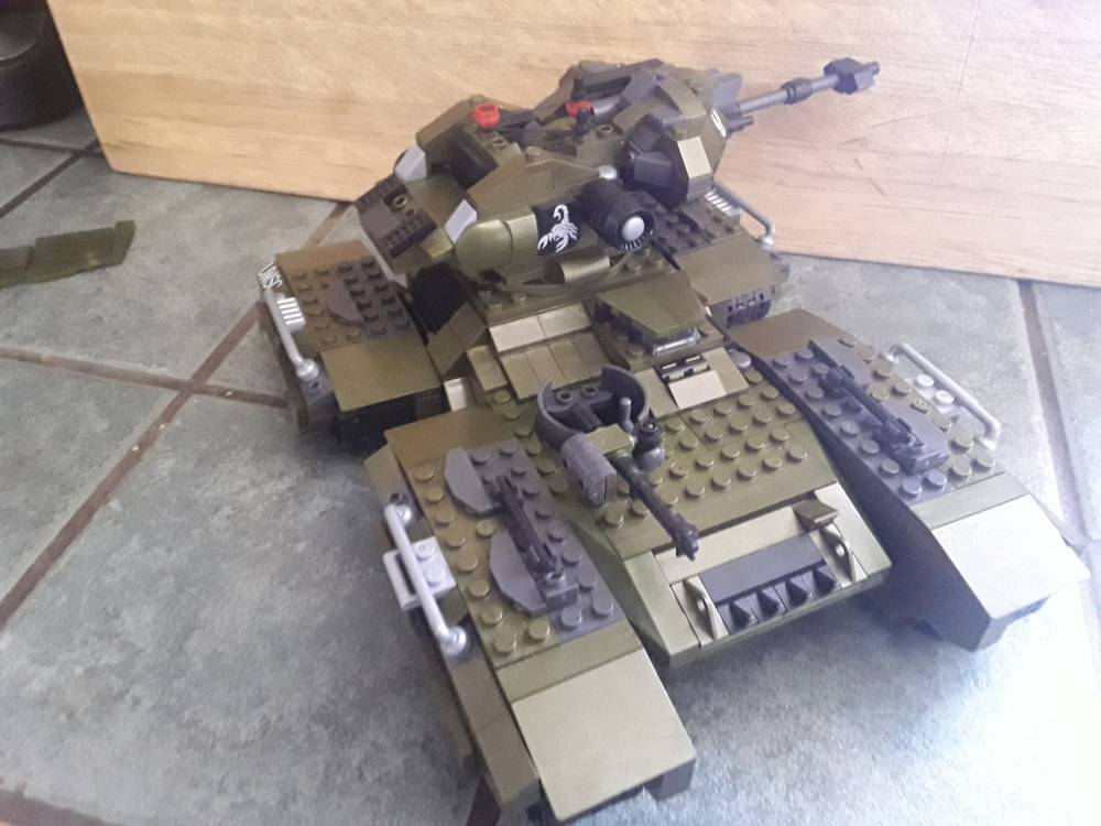 Image of: Tank beats everything
