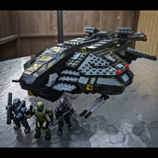 Image of: UNSC Vulture Ready to Fly!!