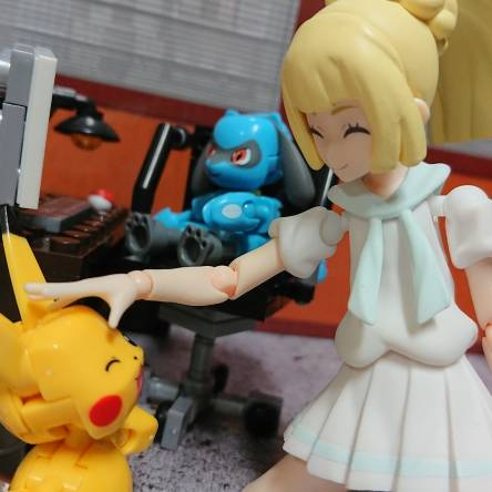 Pikachu is working on a tough case right.