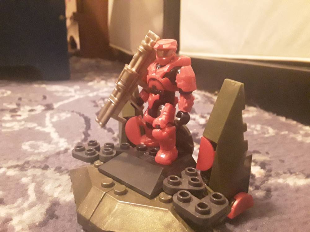 Image of: The red spartan