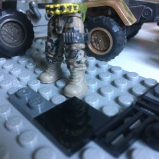 Image of: Tip: Call of duty leg strap can hold Magnums
