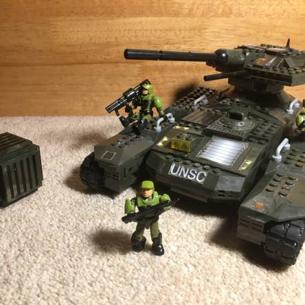 Custom - Halo - Scorpion main battle tank 🦂